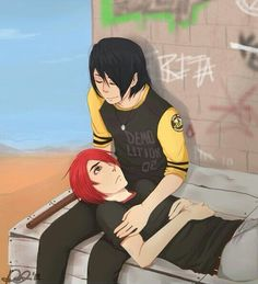 Awww (I apologize to Lyn-Z and Jamia for my sudden and intense Frerard shipping. XD)