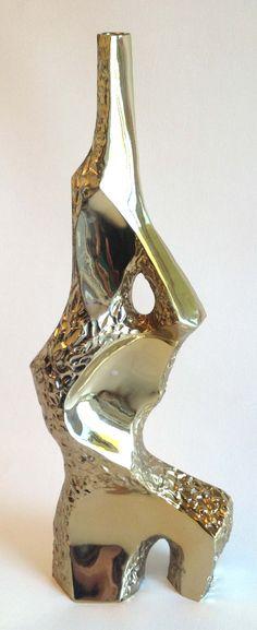 Mid Century Maurizio Tempestini Sculpture - Brutalist Torso Laurel Lamp Base