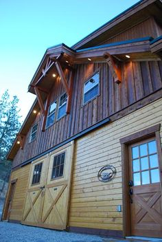 Might as well live with my horses!  LOL!  The Denali Barn Apartment 72