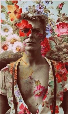 Bowie, unknown artist
