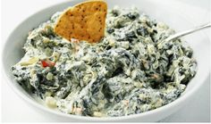 This Creamy Spinach Dip recipe will be the life of the party and you won't be able to stop eating it. Enjoy!