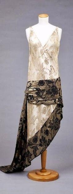 Callot Soeurs Dress - 1928 - Goldstein Museum of Design