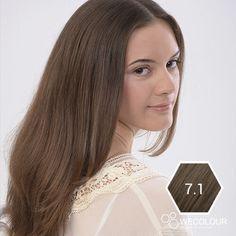 Haarverf as donkerblond haarkleur voor een mooie, koele as donkerblonde haarkleur Hair Dye Colors, Hair Color, Cool Tones, Brown Hair, Wedding Hairstyles, Long Hair Styles, Cute, Beauty, Dyes