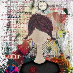 Studio Tangie's Art Journal Book Club Members' Pages 2/13