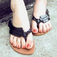 Wild flip flip-flops