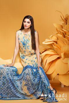 Khaadi Swarovski Summer Lawn Dress 2016 with Price