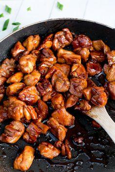 Cafe Delites | Simple Chicken Teriyaki Stir Fry | http://cafedelites.com
