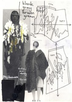 Fashion sketchbook - fashion drawings; fashion design development; fashion portfolio // Paul Thomson