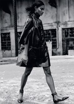 Melodie Monrose for Marie Claire UK by David Roemer
