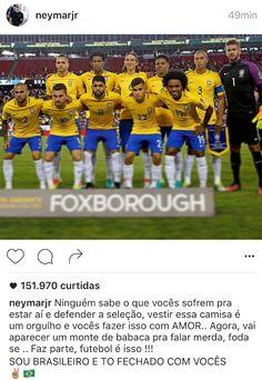 """De Las Vegas, Neymar desabafa: """"Vai aparecer monte de babaca e falar m..."""" #globoesporte"""