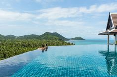 InterContinental Samui Baan Taling Ngam ResortNgam-Panoramic View Infinity Pool from Hotels in Heaven.