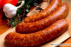 Why should anyone make their own homemade sausage? Simply stated, because homemade sausage is - oh so good! Actually for me, the answer to this is easy. I have the ability to make my own gourmet home made sausage that is far better than anything I. Homemade Turkey Sausage, Homemade Sausage Recipes, Apple Sausage, Hungarian Sausage Recipe, Hungarian Recipes, French Recipes, Bratwurst Recipes, Pork Recipes, Cooking Recipes