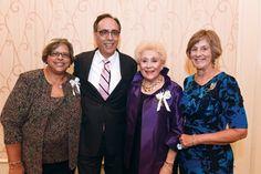 Angela Rattler, Dr. Augusto Ochoa, Carol Hall and Celia Deininger