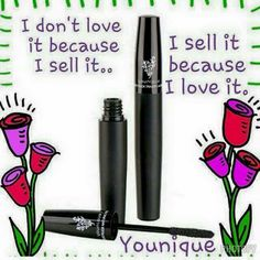 I never in a million years thought I would be part of a direct sales company but I instantly fell in love with all things Younique!! It's easy to get behind such high quality products and such an amazing company!!