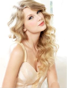 Taylor Swift and Blond Hair