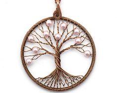 Árbol de la vida árbol de la vida colgante árbol por KittenUmka