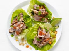 I added 1 Table spoon rice vinegar to the dressing for the rice.I also only added 1/2 the dressing to the rice and topped each wrap with extra dressing. Asian Pork Lettuce Wraps Recipe : Food Network Kitchen : Food Network - FoodNetwork.com