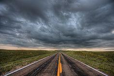 Storm clouds over Highway 97 near Valentine, Nebraska | Flickr - Photo Sharing!