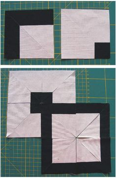 Learn to create intricate quilt blocks with striped fabrics and minimum effort.