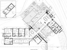 Gallery of House 3 in Payandé Hill / Arquitectura en Estudio + Natalia Heredia - 14 Large Floor Plans, House Floor Plans, Drawing House Plans, Archdaily Mexico, Architectural Floor Plans, Villa Plan, Private Garden, Best Youtubers, Plan Design