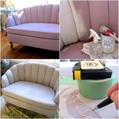 How to paint and stencil furniture with Chalk Paint®Chalk Paint Upholstery. How to paint and stencil furniture with Chalk Paint®