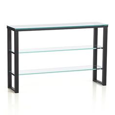 Avenue Console Table in Coffee Tables & Side Tables | Crate and Barrel | bedroom table?