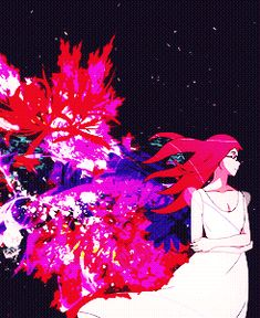 Tokyo Ghoul Rize. The intro for Tokyo Ghoul is visually really beautiful. I get chills watching this part sometimes