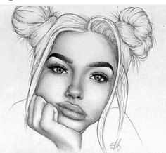 New drawing girl realistic artworks 47 ideas New drawing girl realistic artworks 47 ideasYou can find Realistic drawings and more on our website.New drawin. Tumblr Girl Drawing, Girl Drawing Sketches, Tumblr Drawings, Girl Sketch, Pencil Art Drawings, Cute Drawings, Drawing Ideas, Face Pencil Drawing, Drawing Girls