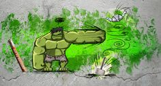 PUNY GOD!  #Hulk #Avengers #RenzoRF #2BHeroes #Marvel Comics Funniest Pictures Ever, Funny Pictures, Comic Tattoo, All Superheroes, Hulk Avengers, Marvel Comics, Nerdy, Tattoo Ideas, God
