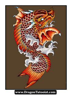 koi dragon - Google Search