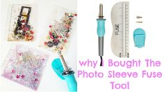 I am loving my new We R Memory Keepers Photo Sleeve Fuse Tool and you will too! Watch to find out my thoughts and review on why i bought the Photo fuse tool....
