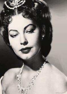 Ava Gardner, most beautiful actress ever in my opinion...