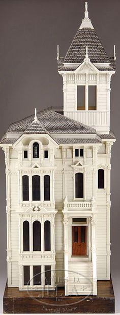 Dollhouse | Marcus (Jim) Wood San Francisco Victorian-Style 6
