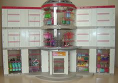 Playmobil Shopping Mall custom build