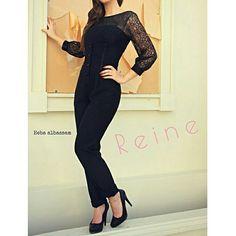   Reine    +962 798 070 931 ☎+962 6 585 6272  #Reine #BeReine #ReineWorld #LoveReine  #ReineJO #InstaReine #InstaFashion #Fashion #Fashionista #FashionForAll #LoveFashion #FashionSymphony #Amman #BeAmman #Jordan #LoveJordan #ReineWonderland #Jumpsuit #BlackJumpsuite #Lace #BlackLace