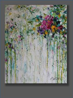 Hey, I found this really awesome Etsy listing at https://www.etsy.com/listing/250236371/flower-painting-abstract-acrylic