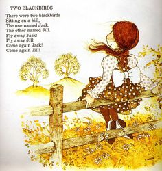 holly hobbie nursery book...loved this book...still have it
