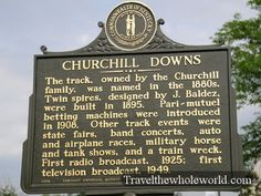 Churchill Downs - race track