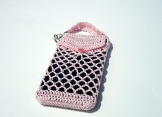 Samsung Galaxy iPhone Android  Cell Phone Holder by krochetlady, $15.00