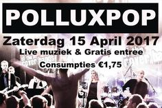 Line-up voor 1e Polluxpop van vanavond is bekend
