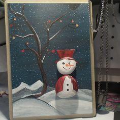 Yeni yıl #stons#tas#elyapımı#Original#handmade#yeni#hediyelik#chısmıs#handmade#tasilesanat#tasboyama