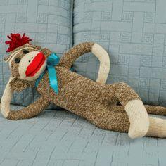 make your own sock monkey! @Julie Sadler