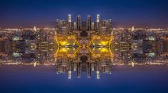 Mirror City Timelapse by Michael Shainblum. Mirror City is a visual story through some of the great American cities: Chicago, San Francisco, San Diego, Las Vegas and Los Angeles. These clips were all processed from their original form, into the kaleidoscopic visuals that you see in this video.