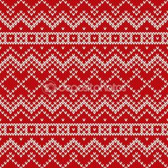 Скандинавский традиционный узорчатый стиль бесшовный вязаный образец — стоковая иллюстрация #57713665