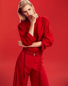 Photography: Xavi Gordo at8 Artist Management Styled by: Michele Bagnara Hair: Valerio Sestito Makeup: Erica Vellini Light Assistant: Dani Gallar Digital Assistant: Mariana Maglio Model: Yulia Terence
