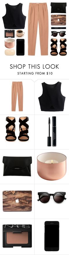 """""""//We gonna let it burn//"""" by the-key-to-my-heart ❤ liked on Polyvore featuring Toast, Gianvito Rossi, Givenchy, Retrò, NARS Cosmetics, Kenzo and Sisley"""