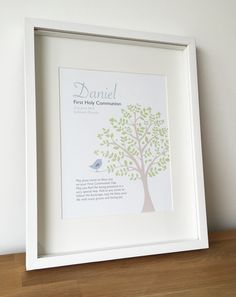 A lovely and thoughtful #personalised #gift for any boy on the special occasion of his first #HolyCommunion.
