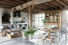 The Lovely Deco: mai 2016 Casa Top, Cosy Decor, French Country House, Home Decor Inspiration, Home And Living, Living Room, Farmhouse Decor, Outdoor Furniture Sets, Family Room