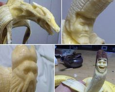 Banana Sculptures Are Quite A-Peeling