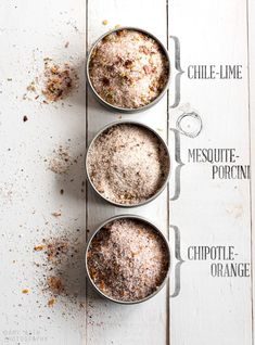 Make Your Own Flavored Pink Himalayan Salts!!!!....................  great recipes for [arguably] the Worlds Healthiest Salt with its 84 pristine minerals in perfect balance (as opposed to table salt which is only Sodium and Iodine....and chemical toxins).......  Invent your own, using Lime Zest, Ginger, Lemon Zest, Dried Garlic, Dried Herbs from your garden, the options are endless!!!!!